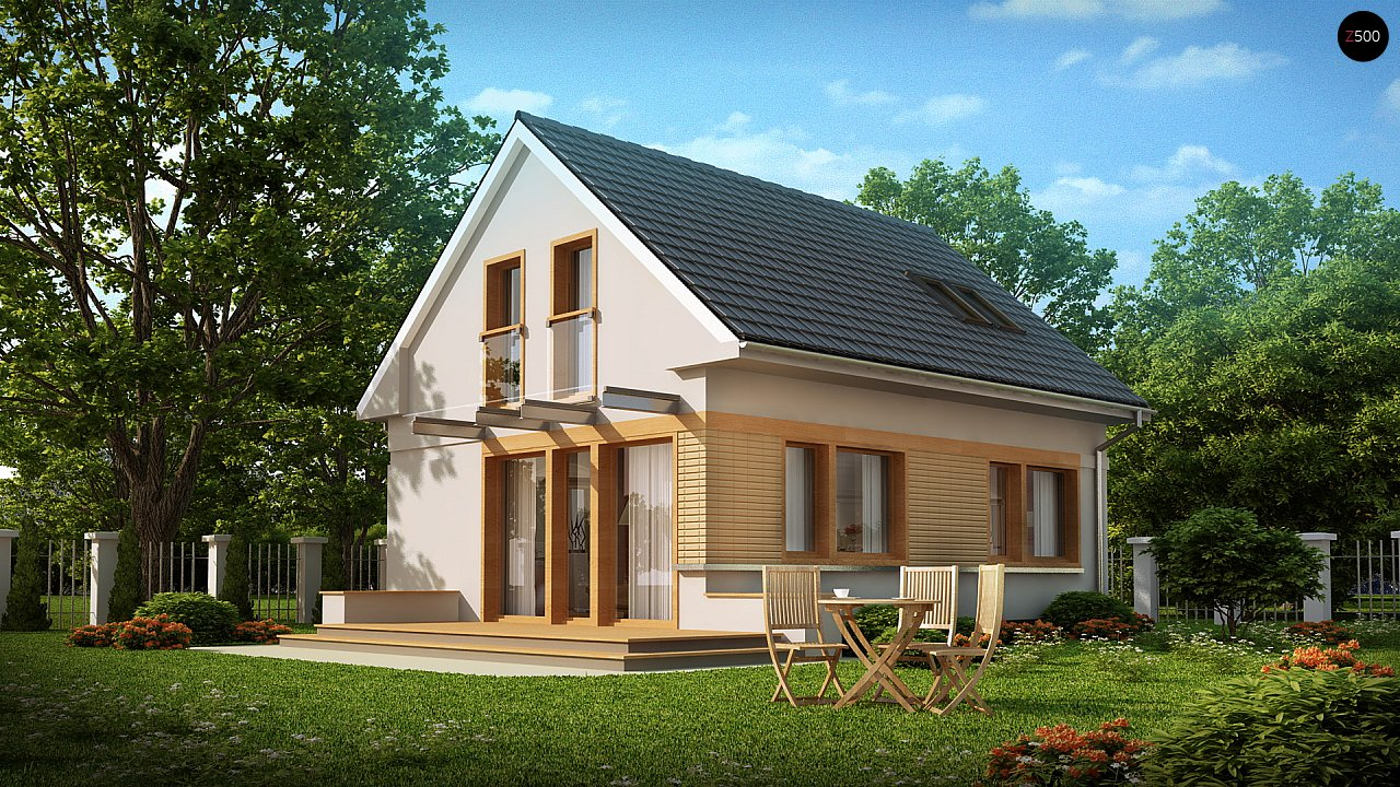 Проект дома Z211