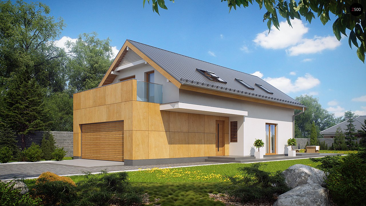 Проект дома Z292