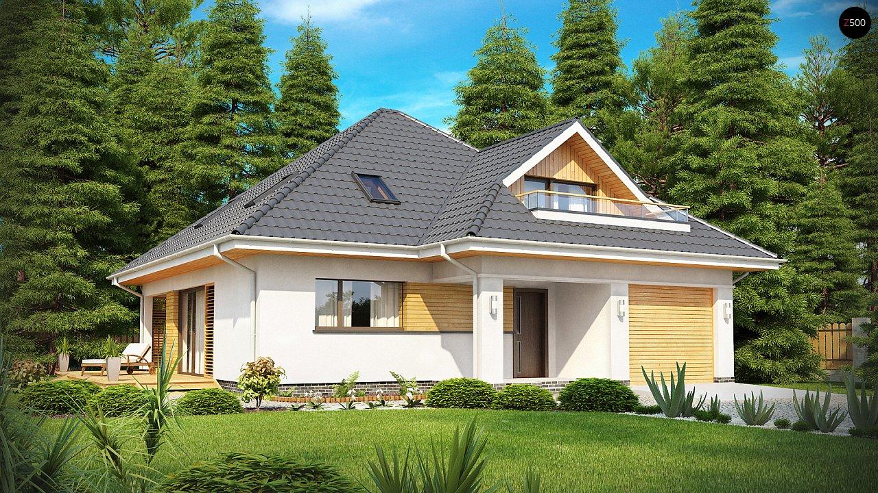 Проект дома Z143 - 1