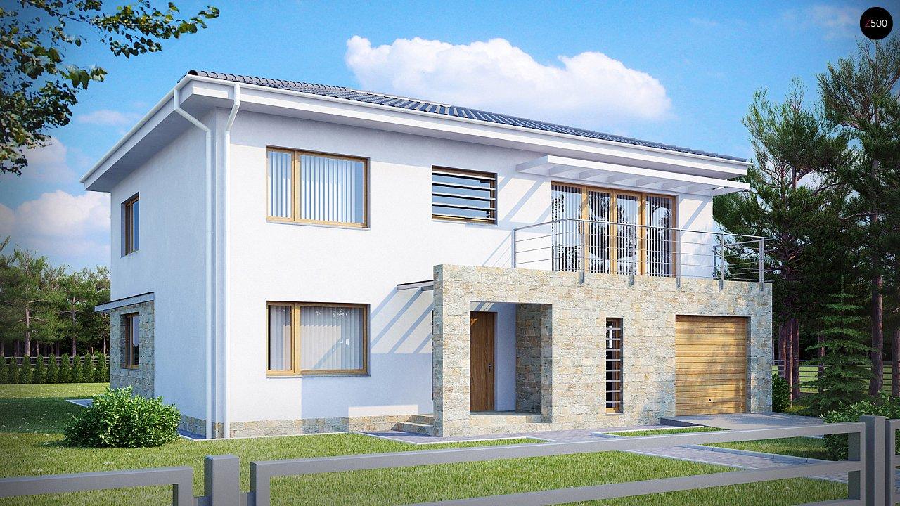 Проект дома Zx4
