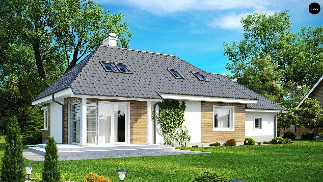 Проект дома Z105