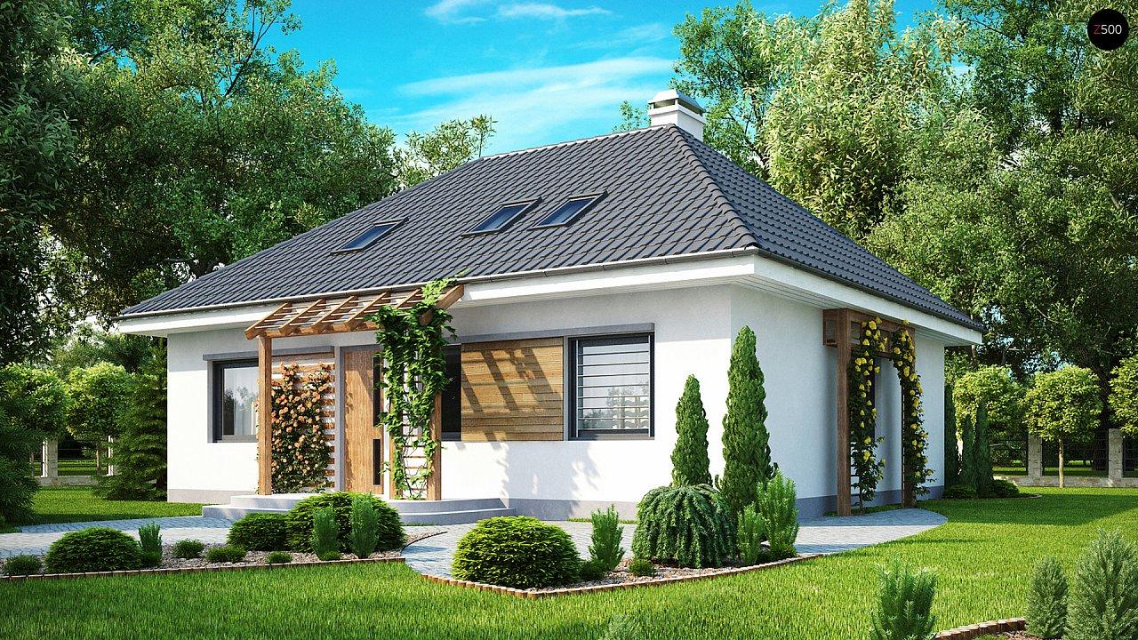 Проект дома Z121 - 1