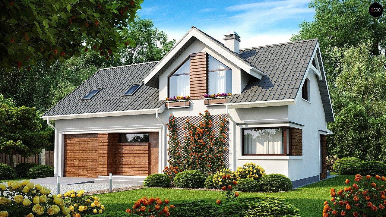 Проект дома Z122