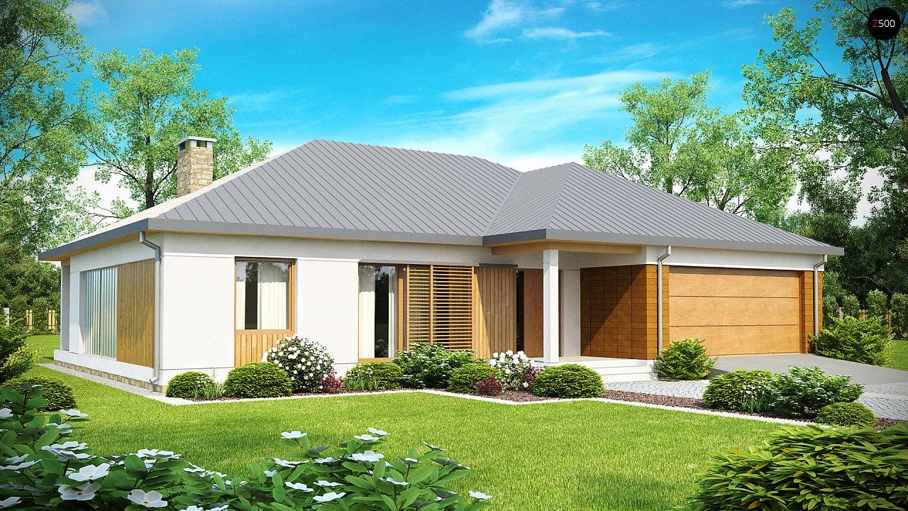 Проект дома Z152