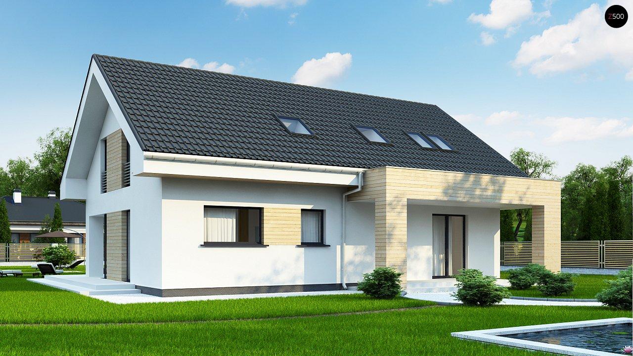 Проект дома Z160 A