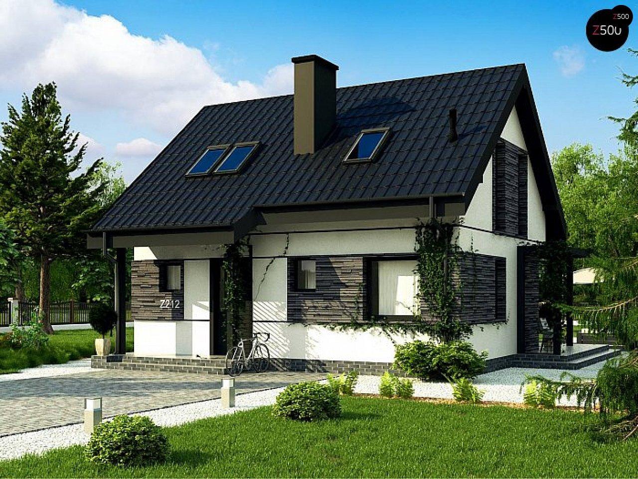 Проект дома Z212