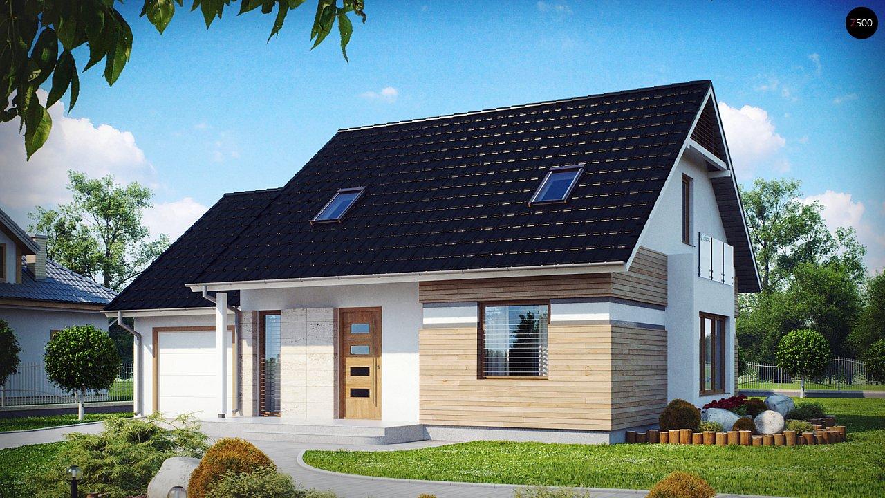 Проект дома Z114 - 1