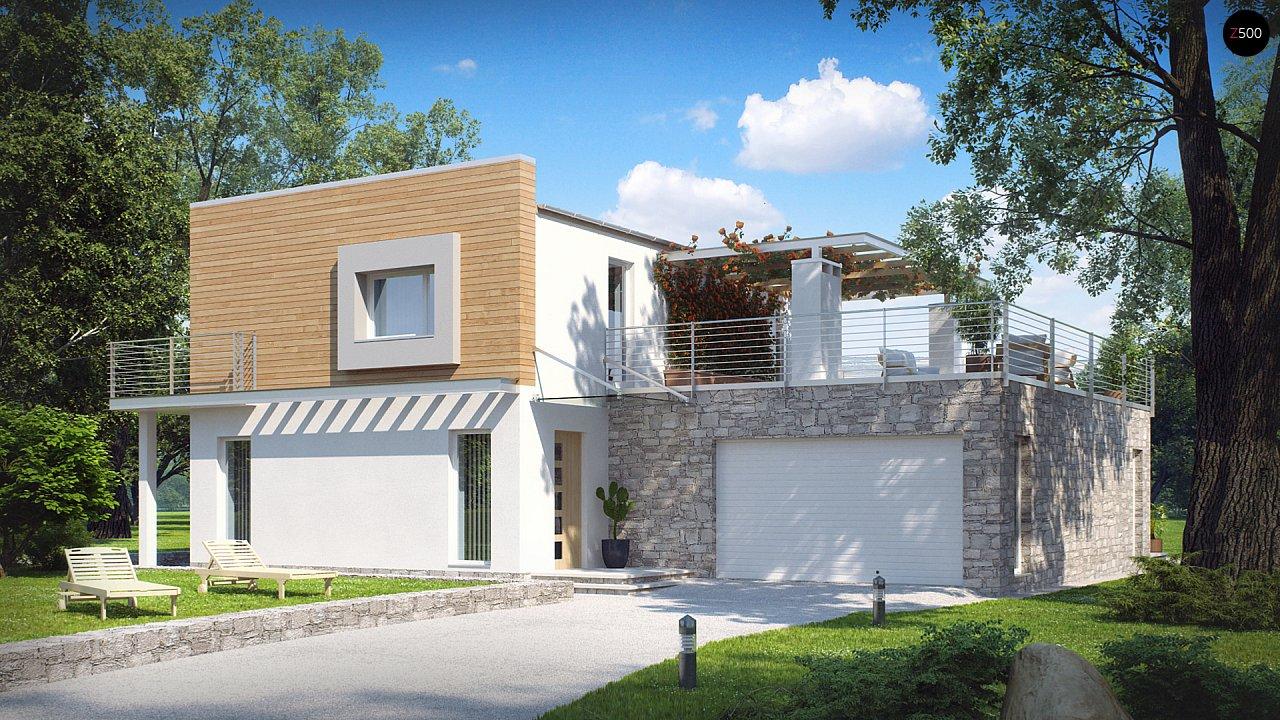 Проект дома Zx3