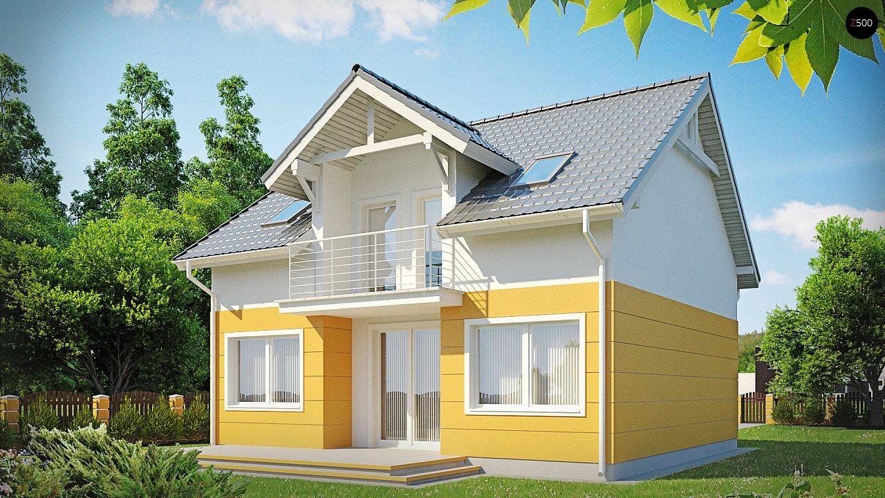 Проект дома Z65 - 1