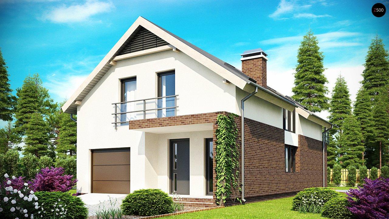 Проект дома Z154 - 1