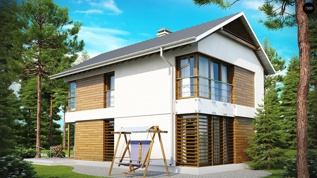 Проект дома Z155 - 1