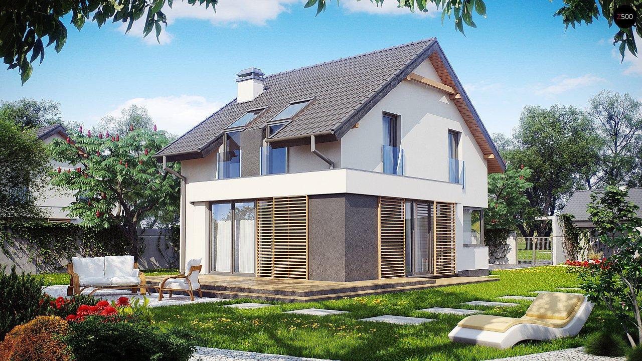 Проект дома Z290 - 1
