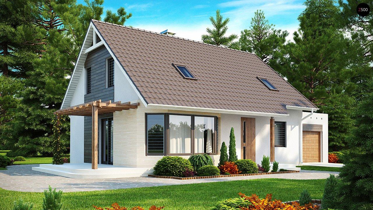 Проект дома Z117