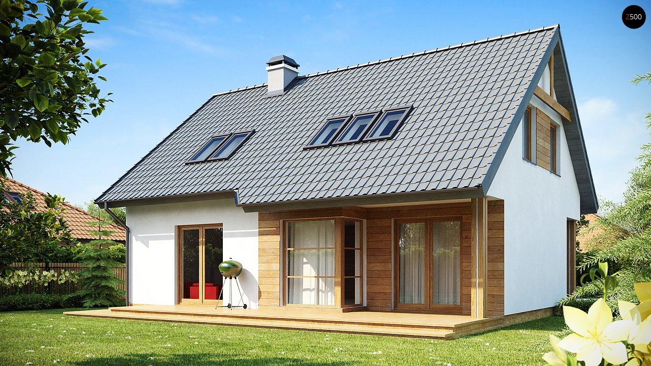 Проект дома Z66