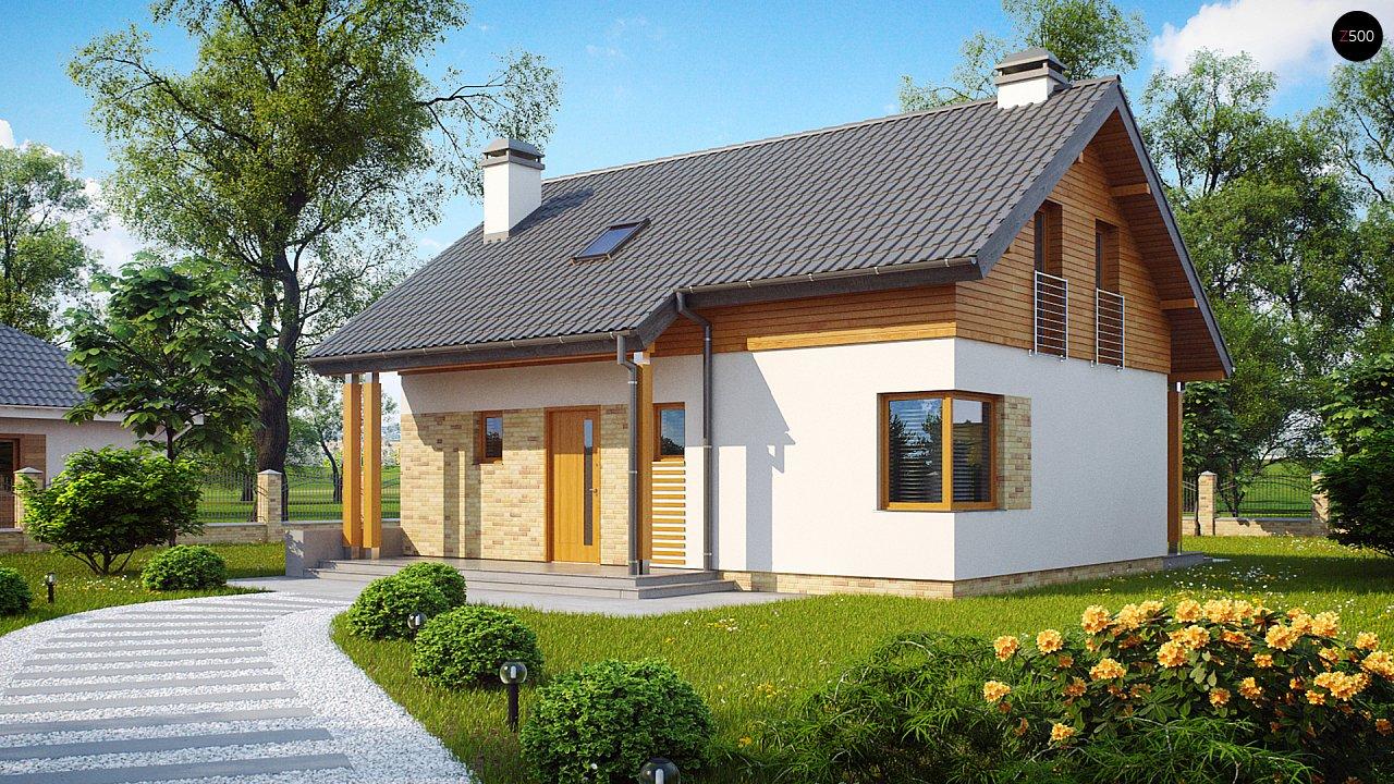 Проект дома Z210 v1