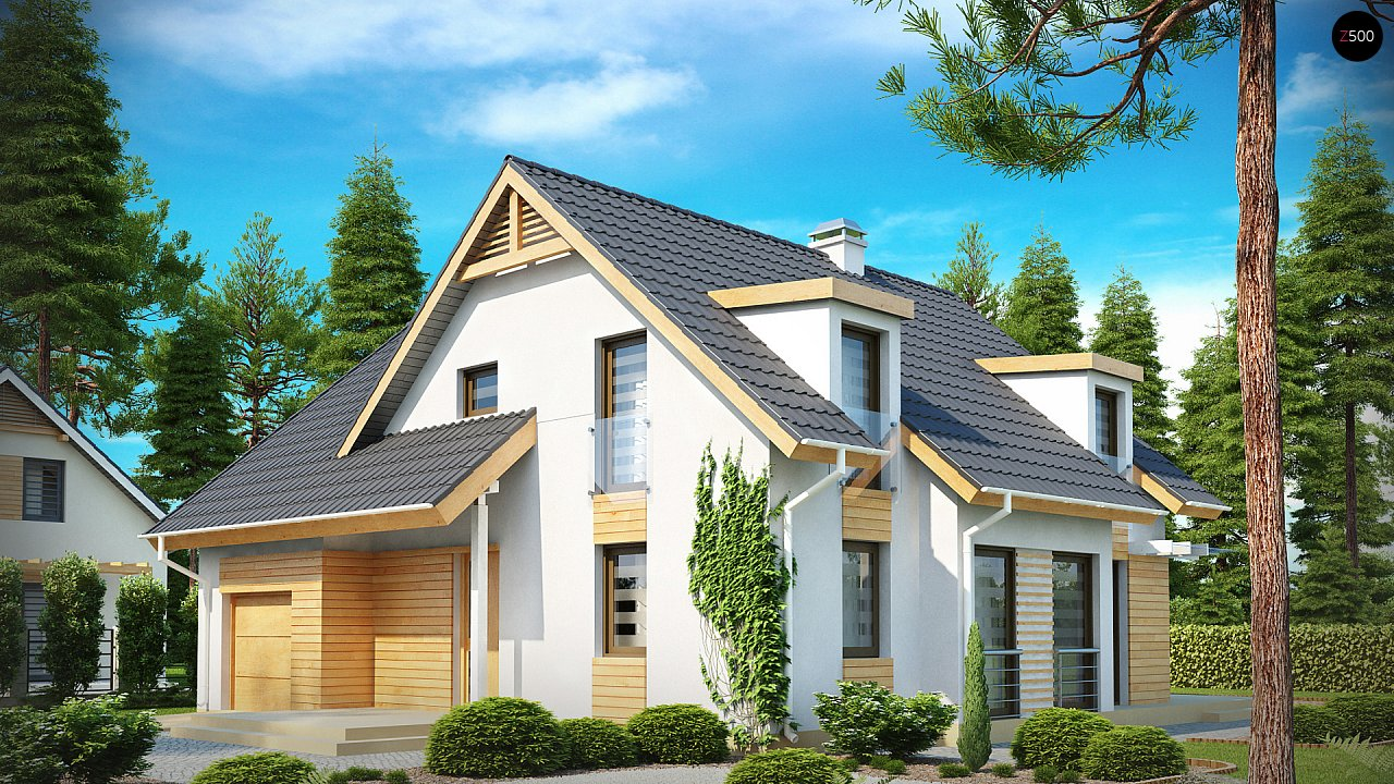 Проект дома Z135