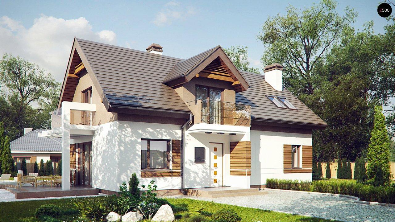 Проект дома Z223