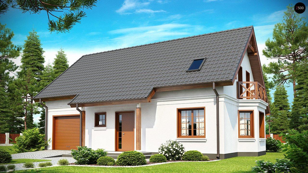 Проект дома Z178 - 1