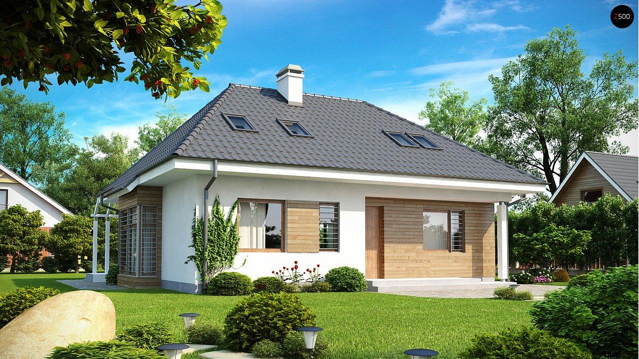 Проект дома Z104 - 1
