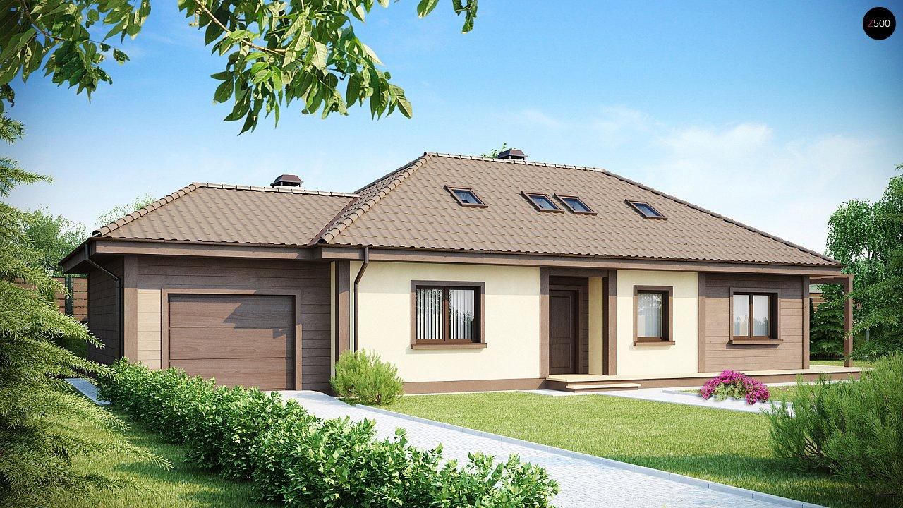Проект дома Z90 - 1