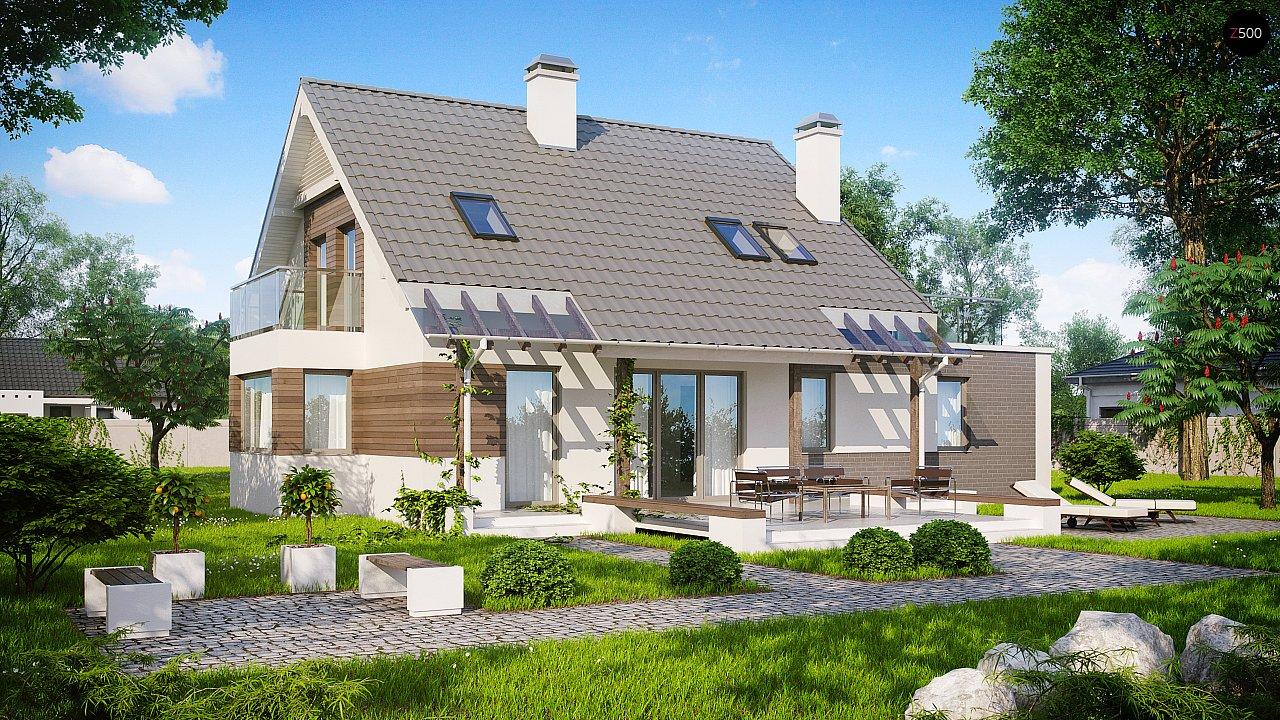 Проект дома Z231 - 1