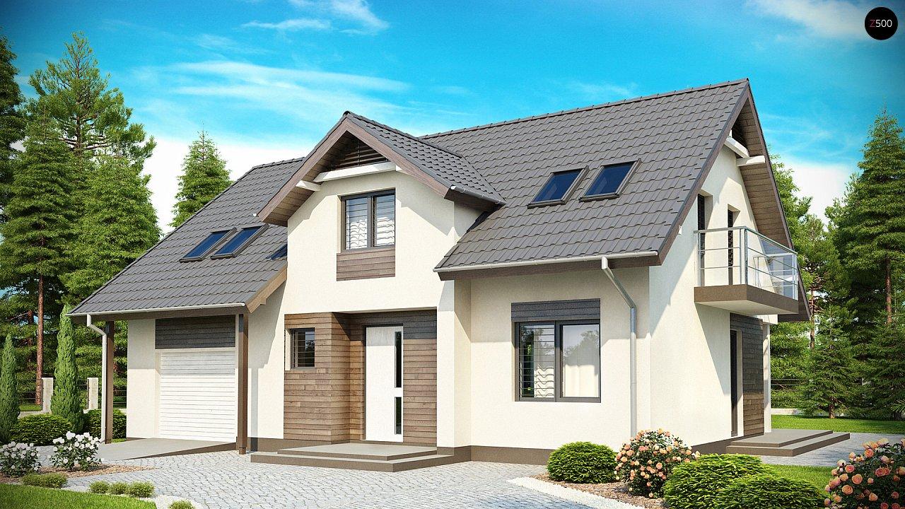 Проект дома Z172 - 1