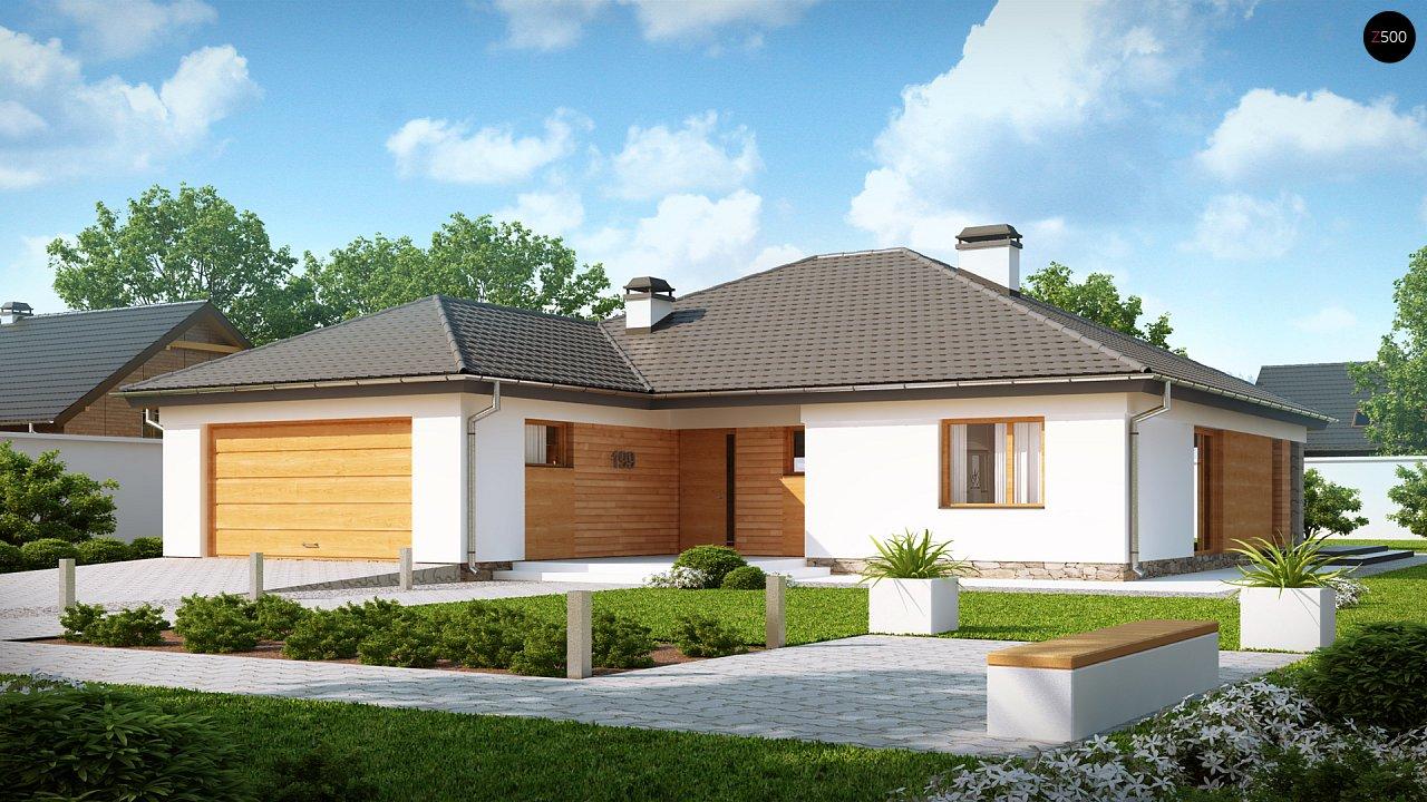 Проект дома Z199