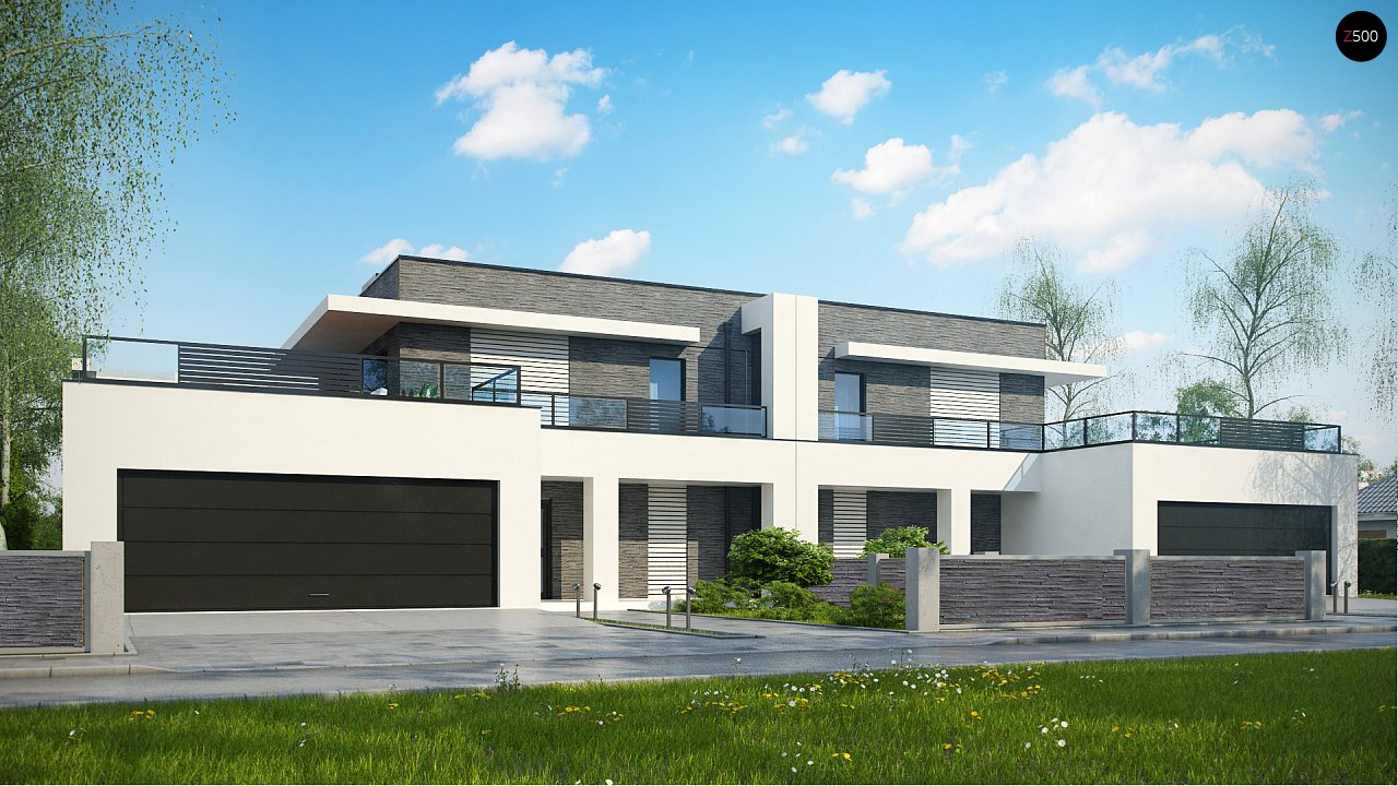 Проект дома Zb16