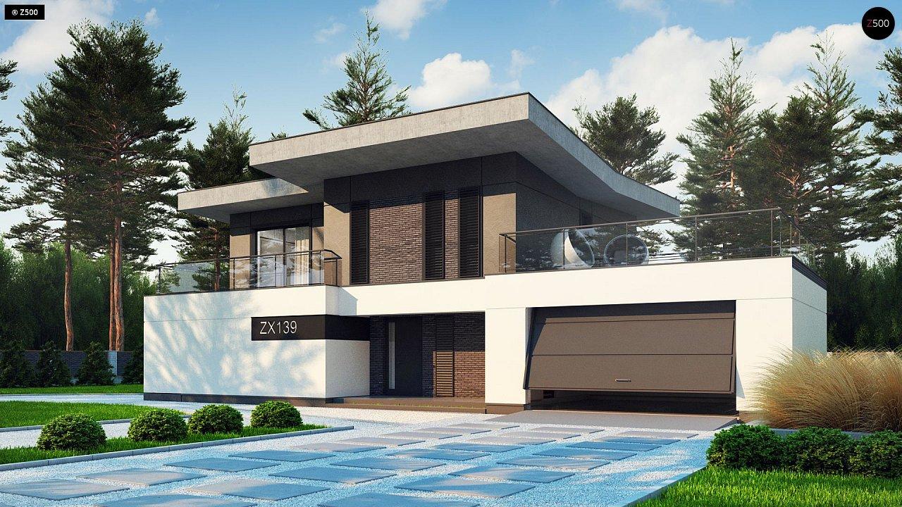 Проект дома Zx139 - 1