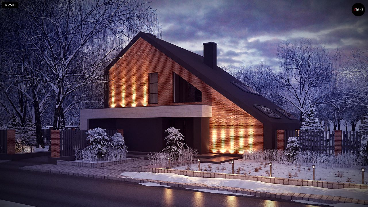 Проект дома Zx95