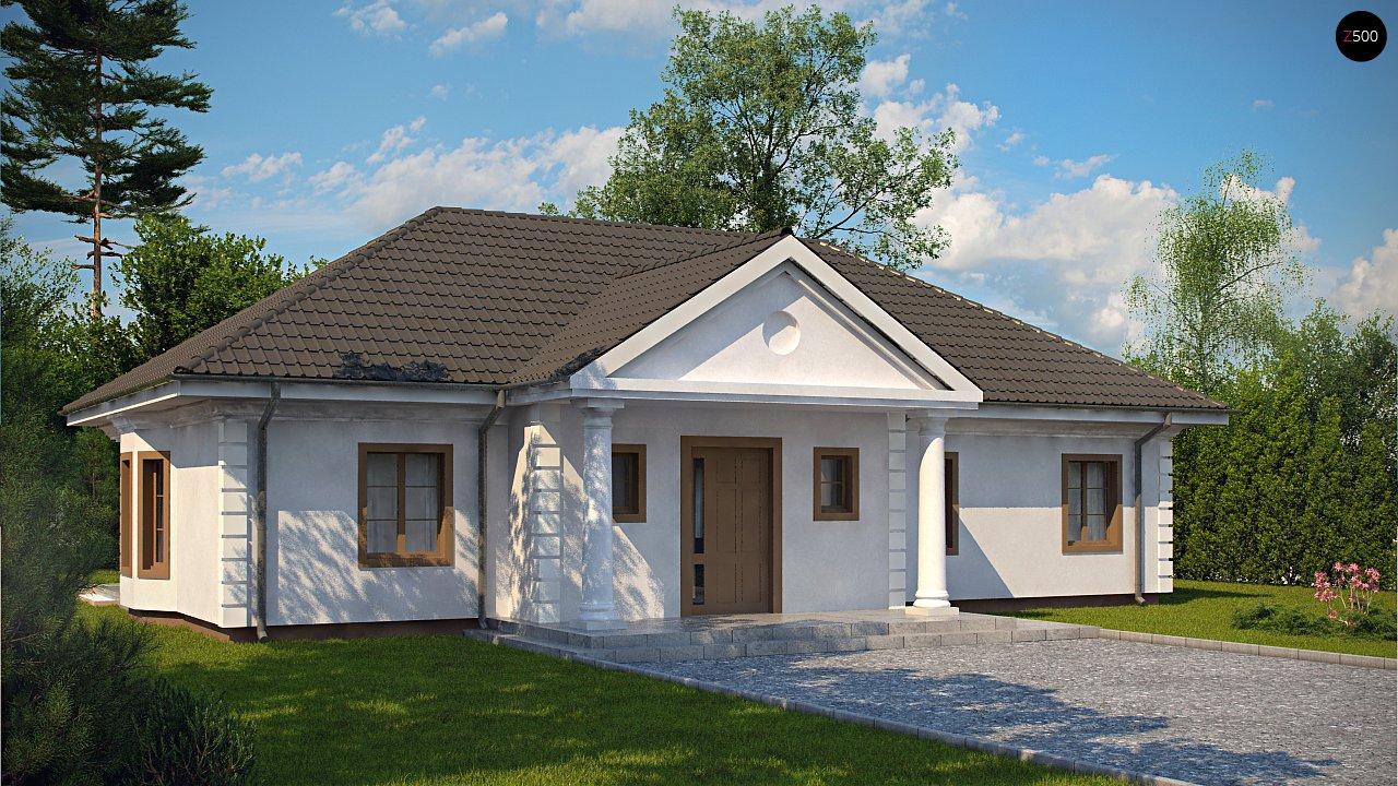 Проект дома Z2 L + w - 1