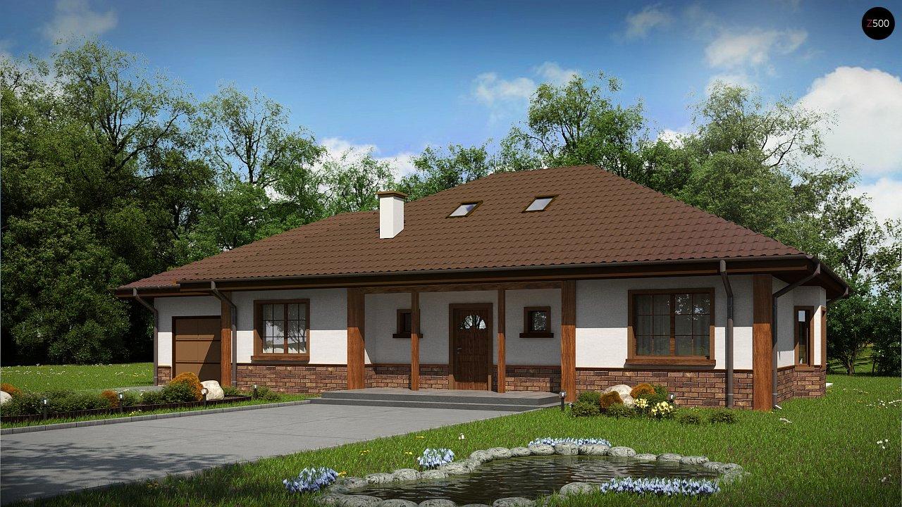 Проект дома Z10 D sdu GL