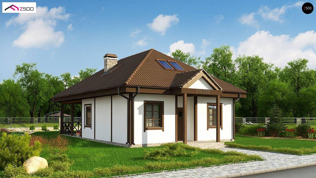 Проект дома Z16 D 35 - 1