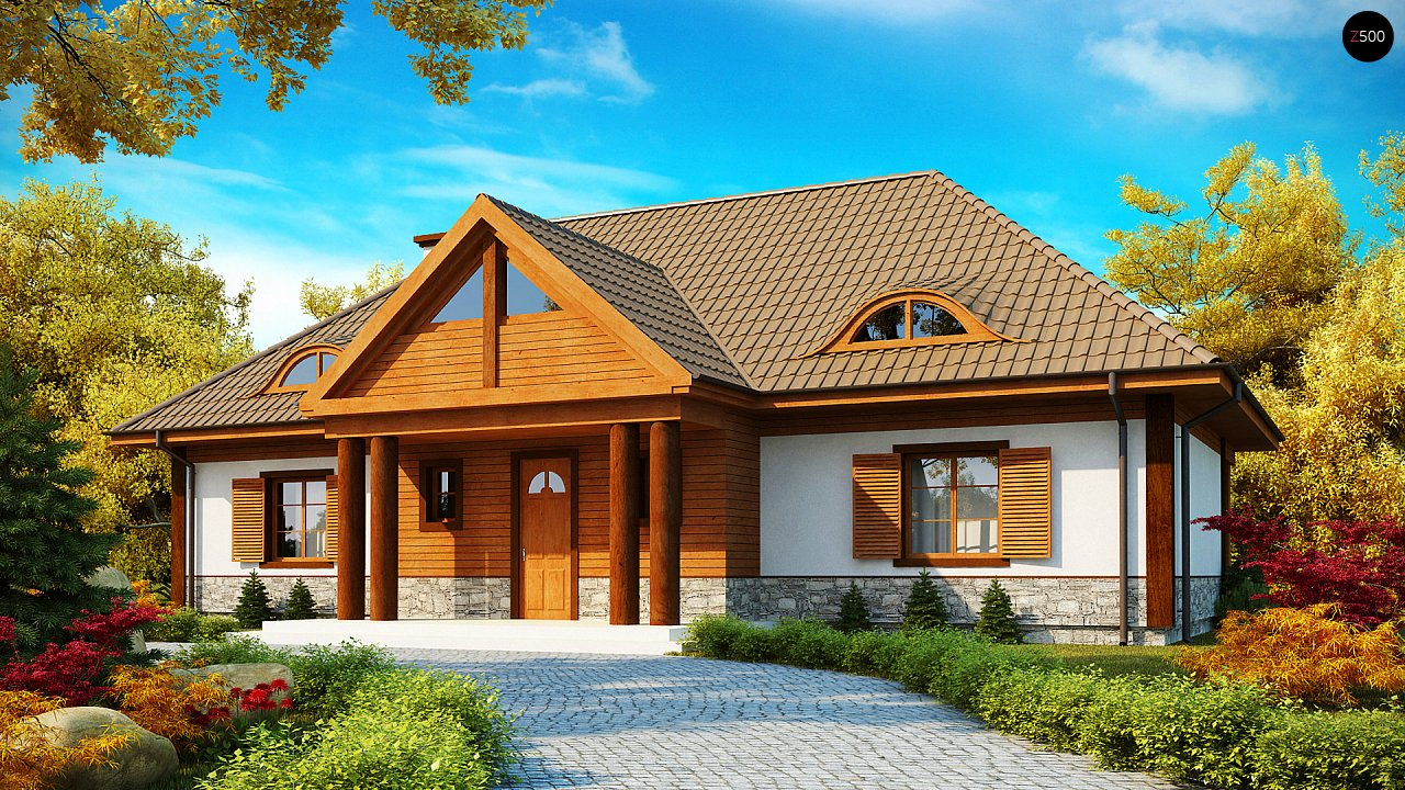 Проект дома Z20