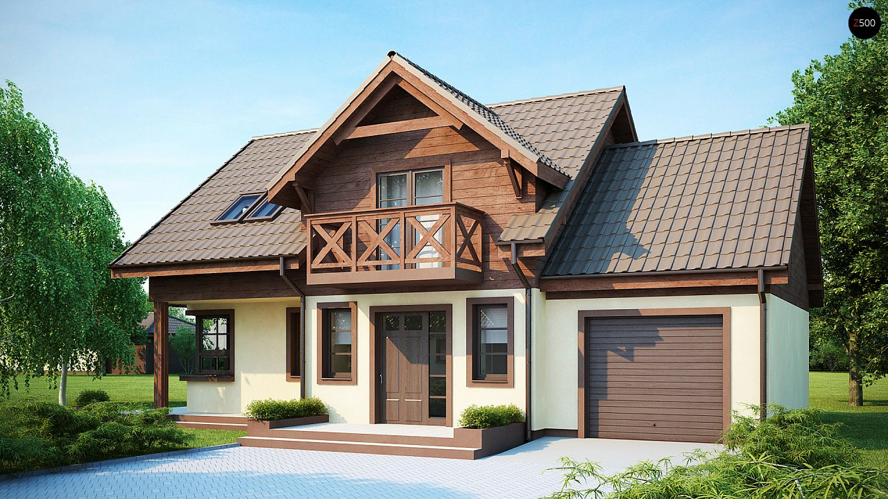 Проект дома Z33