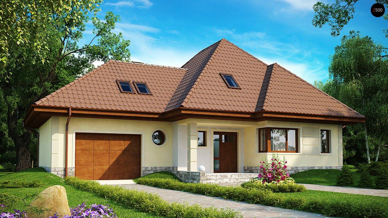 Проект дома Z48