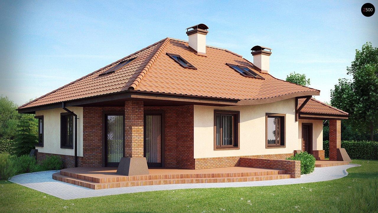 Проект дома Z56 - 1