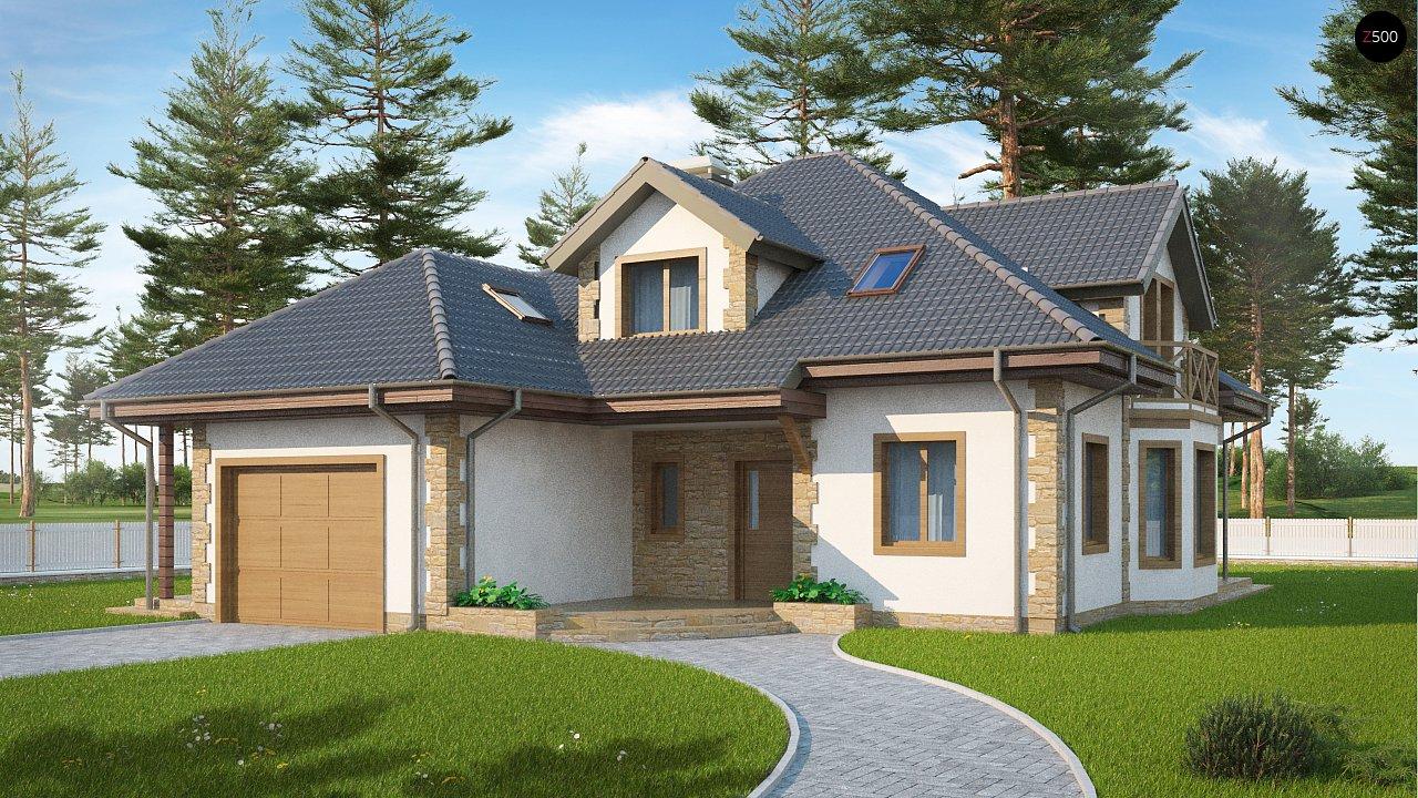 Проект дома Z58 z blk - 1