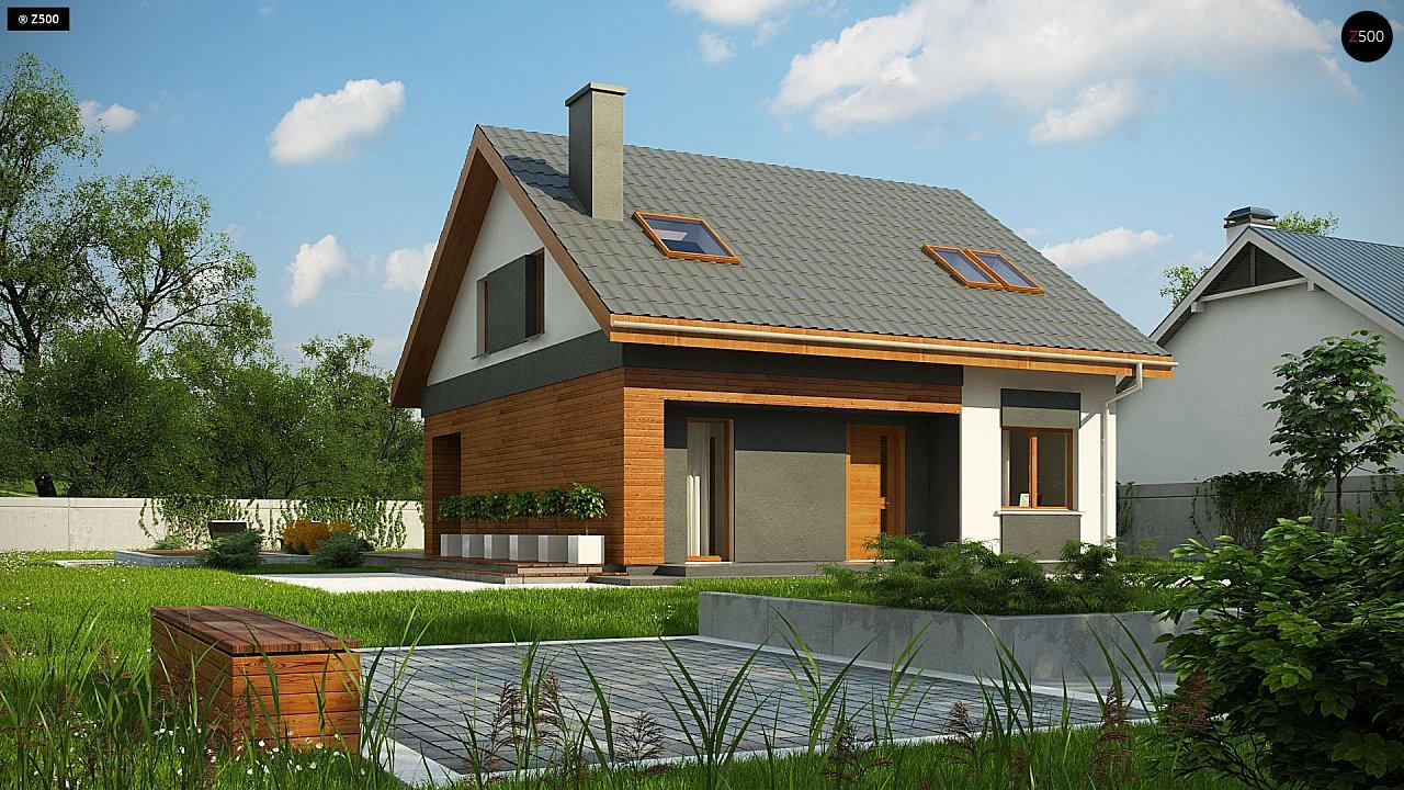 Проект дома Z62 A minus - 1