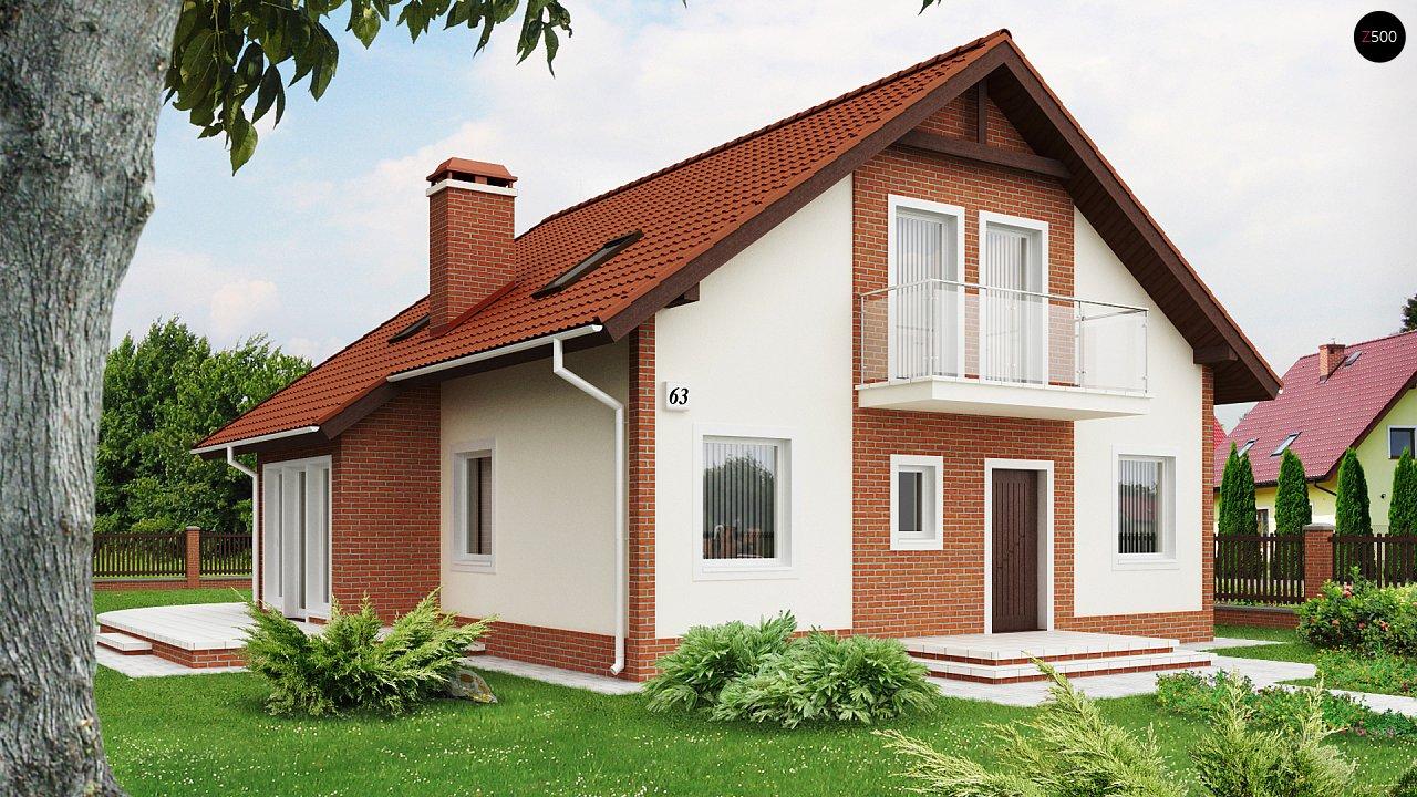 Проект дома Z63