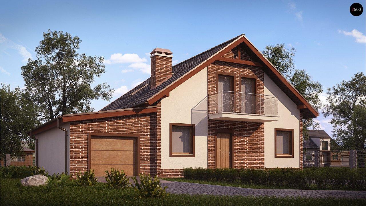 Проект дома Z63 L GL - 1