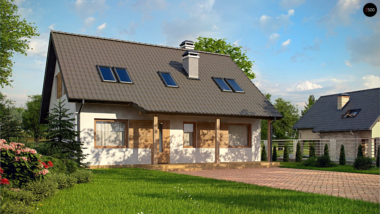 Проект дома Z66 D zp