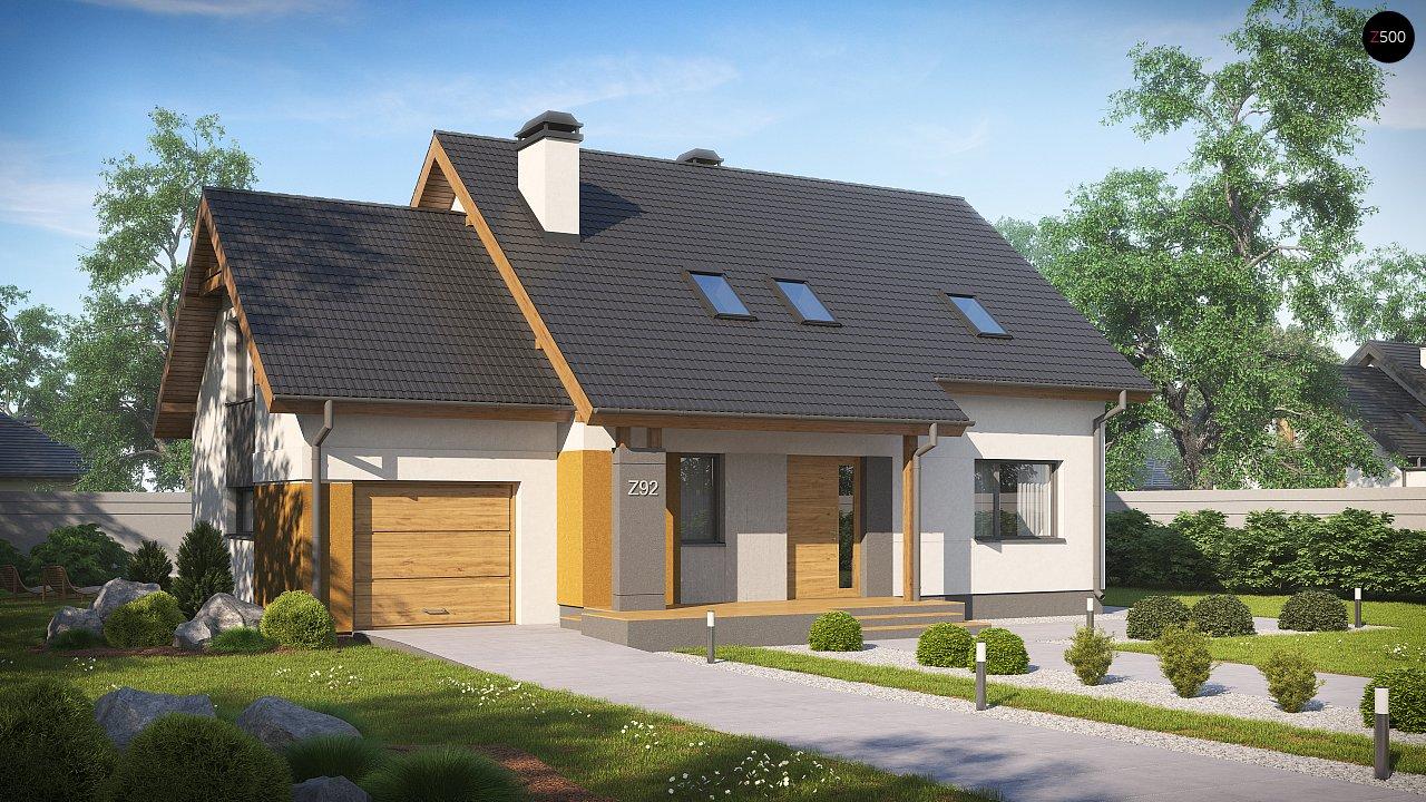 Проект дома Z92 GL