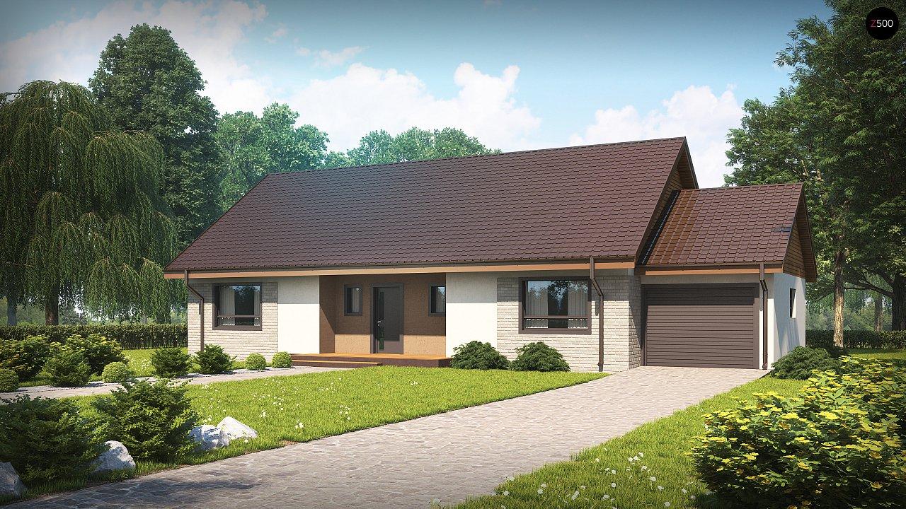 Проект дома Z98 L GP - 1