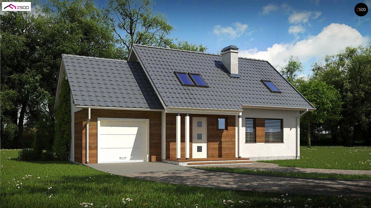 Проект дома Z101 D GL