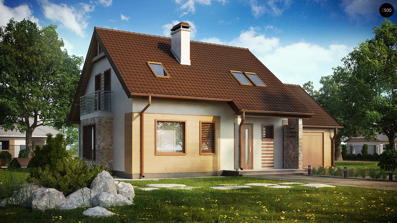 Проект дома Z102 GP