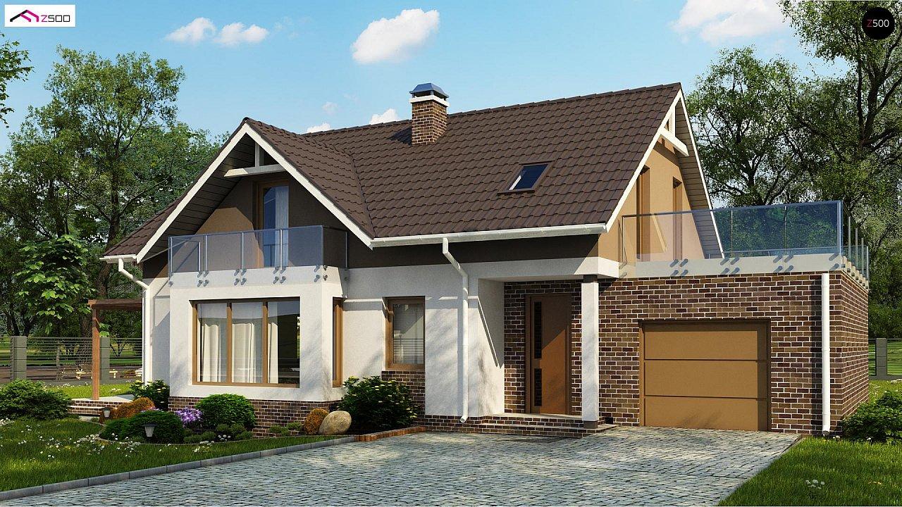Проект дома Z128 GP