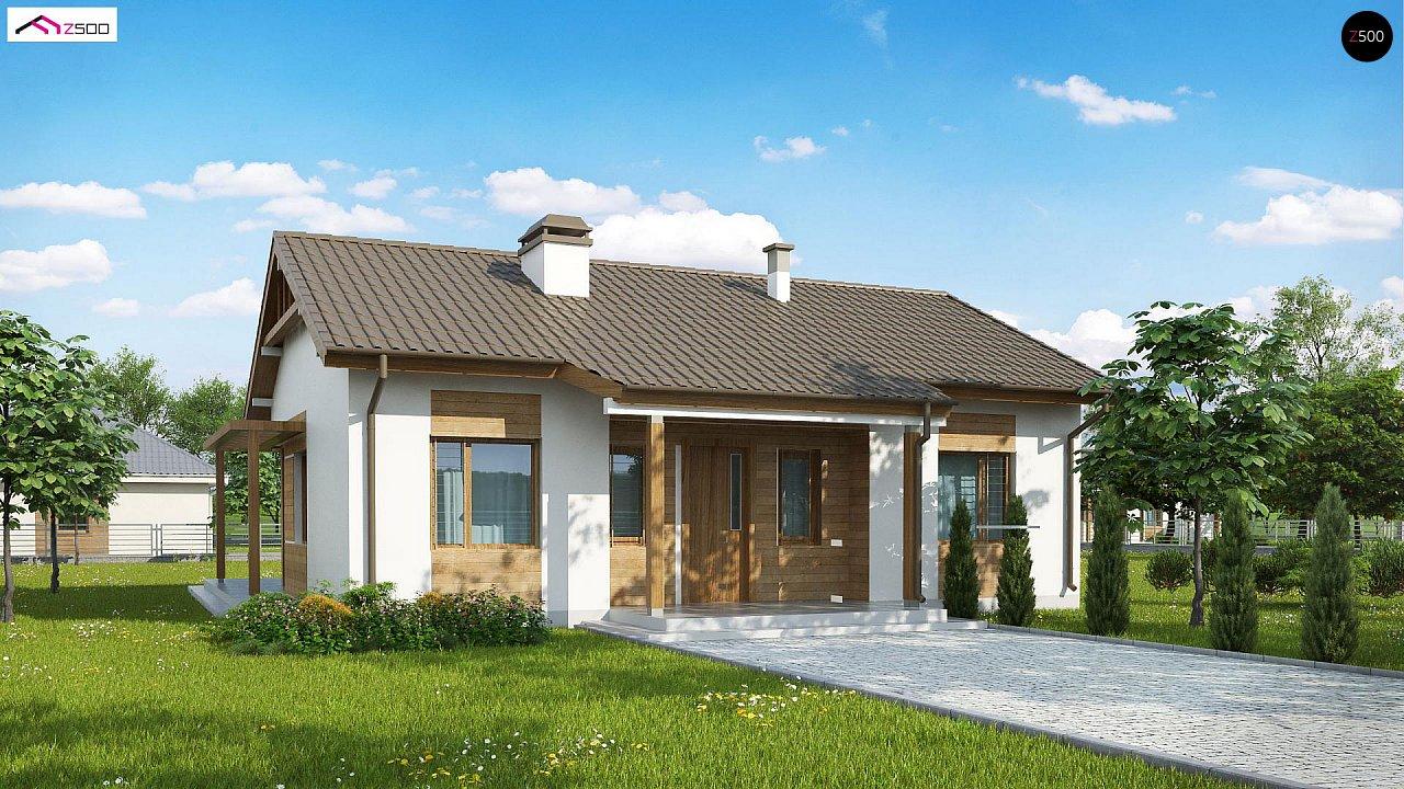 Проект дома Z136 minus