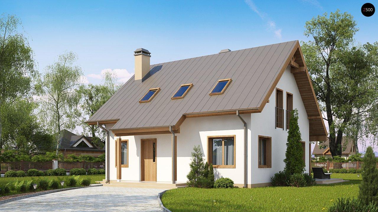 Проект дома Z162 v3