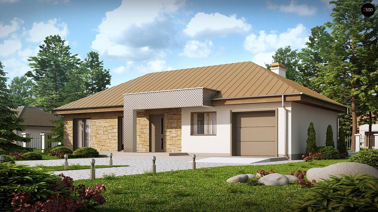 Проект дома Z165 - 1